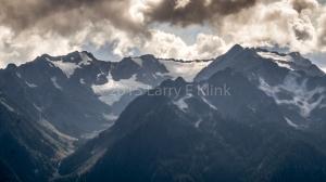 West Peak, Mt Olympus and Glacial Valleys, Hurricane Ridge National Park, WA