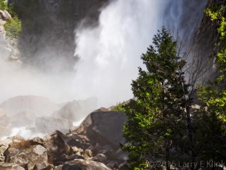 Base of Lower Yosemite Falls