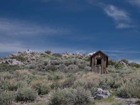 Outhouse on a Hill