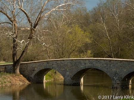 Image of Burnside's Bridge, Antietam National Battlefield, Sharpsburg, MD, USA