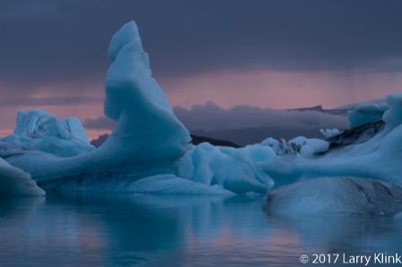Iceberg; Blue Ice - Last Light