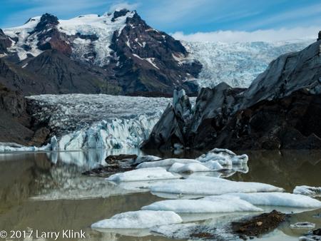 Image of Svinafellsjokulsvegur Glacial Tongue and Lagoon
