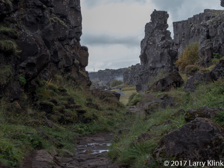 Almannagjá Ravine - Icelandic Rift Valley