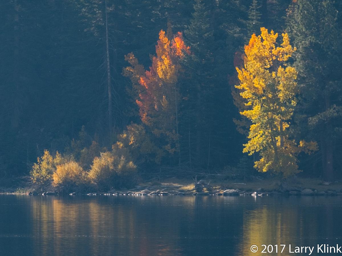 Autumn Sunrise at Twin Lakes