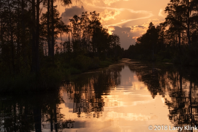 Sunset from the Main Canal - Perspective 2