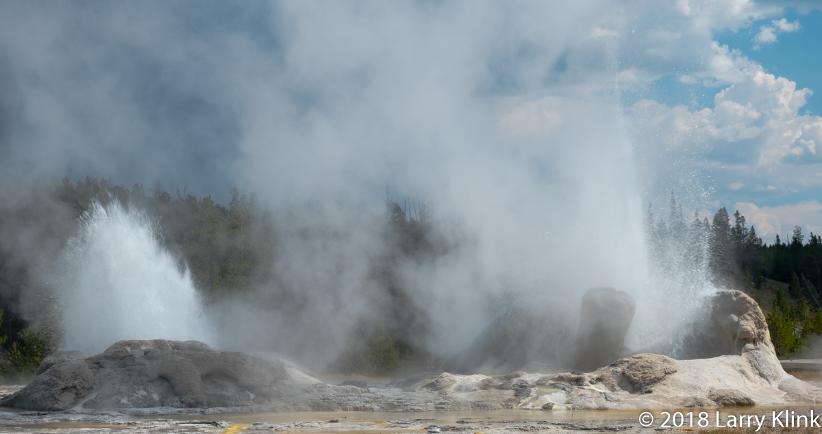 Upper Geyser Basin, Yellowstone National Park; SEP 2018
