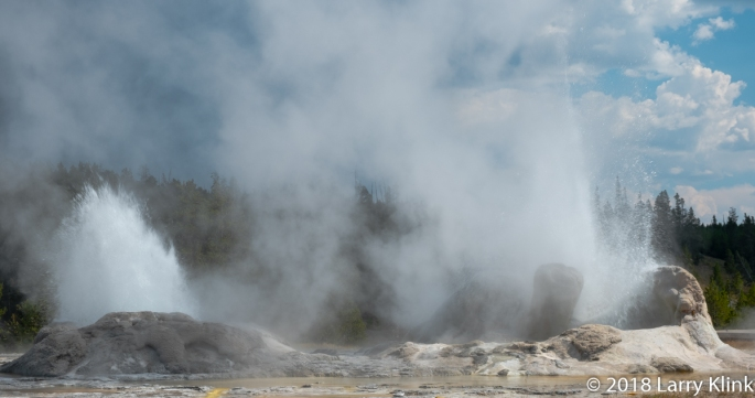 Upper Geyser Basin, Yellowstone National Park; SEP 2018