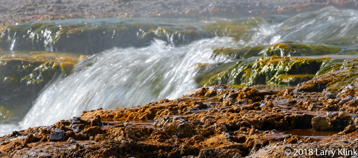 Overflow Into the Firehole River - P2