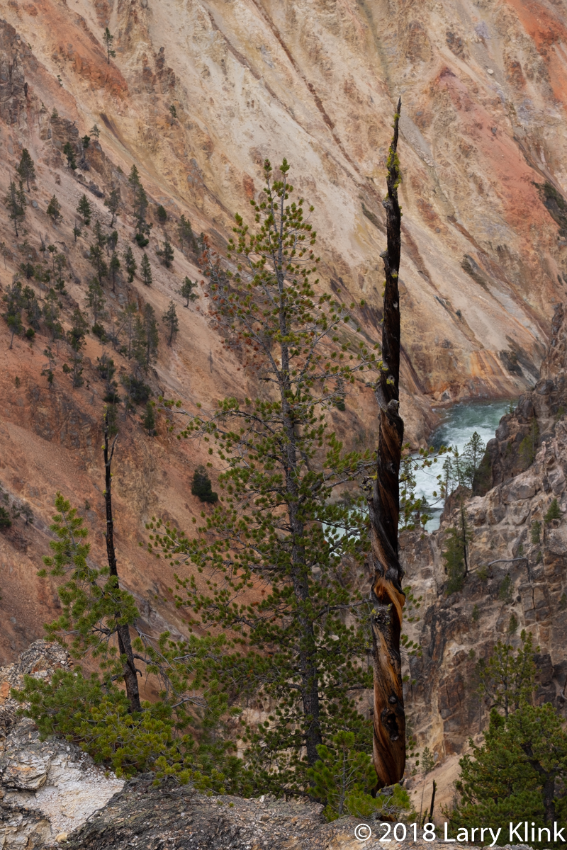 Grand Canyon of the Yellowstone, Yellowstone National Park; SEP 2018